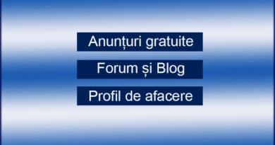 Anunțuri gratuite în România